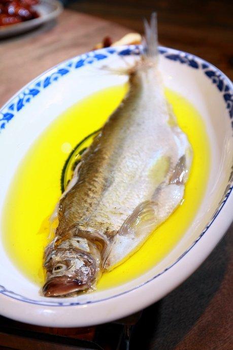 鸡汁蒸白鱼