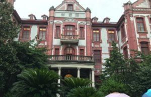 徐匯キャンパスの図書館